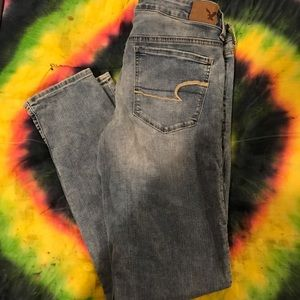 American Eagle outfitters skinny jeans!!
